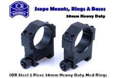 IOR Heavy Duty Steel Rings 30mm