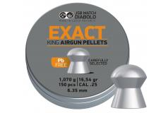 JSB Exact King Lead-free 6.35mm