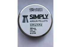 JSB Simply Match 4,5mm  0,535g/8,26gr