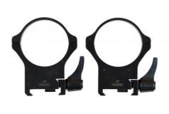 Rusan-Mikron Steel Precision Weaver Rings 30mm Quick Detach H14