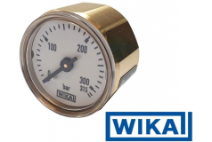 Wika manometer 315 bar 1/8 BSP voor o.a. Edguns