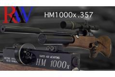 RAW HM1000X .357 Rechtshandig walnoot sporter Duimgatkolf