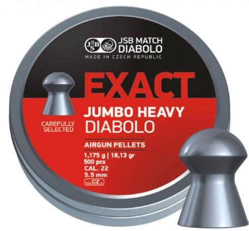 Luchtdruk pellets JSB Jumbo Heavy 5,5 mm