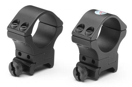 Bisley 2 delige Mountset Adjustable Weaver High 30mm