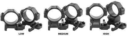 Arms Snelwisselmountset 30mm