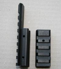 2-delige adapter van 9-11 naar picatinny