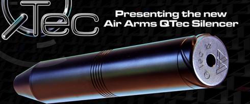 Air Arms Q-Tec Demper 1/2 UNF Female .22