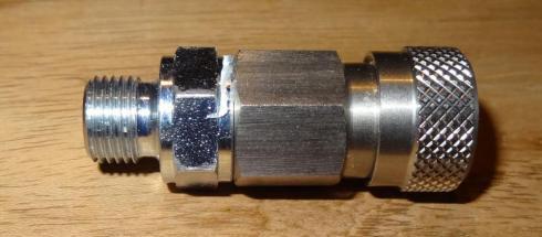 Foster Stalen High Pressure female koppeling 1/8 male