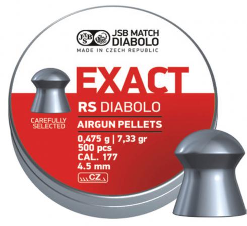 JSB Diabolo Exact RS 4,52mm