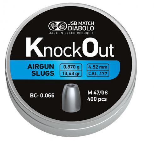 JSB Knock Out Slugs .177  4.52mm Heavy 0,870g