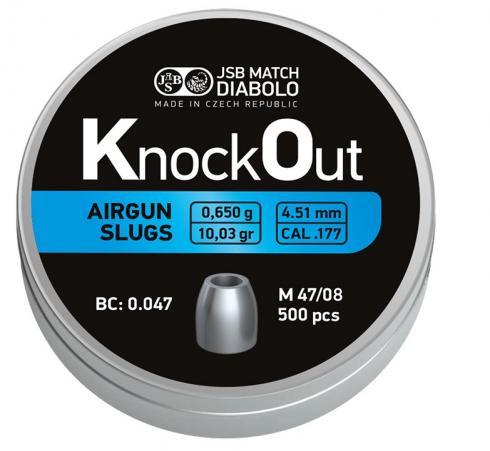JSB Knock Out Slugs .177  4.51mm Light 0,650g