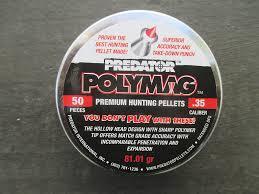 JSB Predator Polymag pellets .35