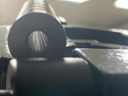 Slugbarrel L610mm D15mm Blued .25
