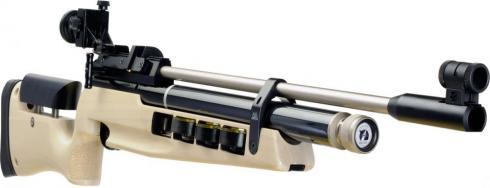 Air Arms S400 MPR Biathlon met rubber kolfplaat