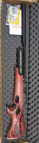 RAW HM1000X .30 Red Laminate Carbon Adj. Butpad