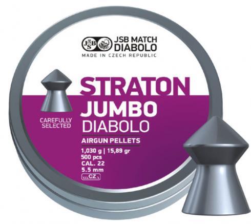 JSB Straton cal 5.5 mm, 500 pellets